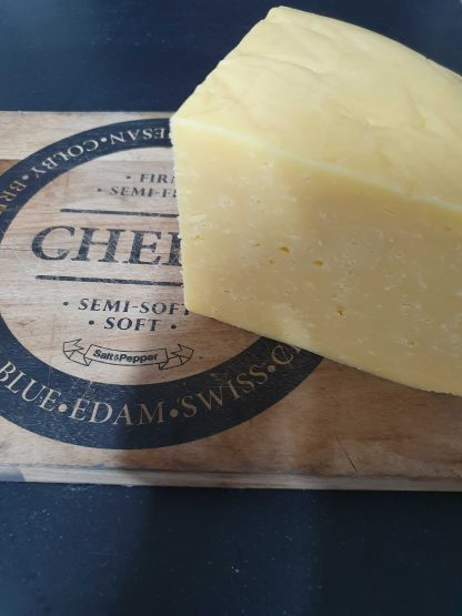 Caerphilly is a Welsh cheese often called a White Cheddar