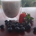 Picture of Smoothie made with Kefir and fruit